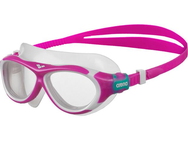arena Oblo Lunettes de protection Enfant, pink-clear